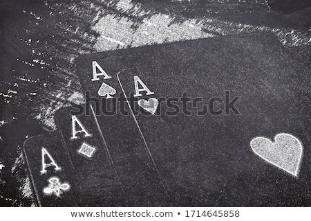チップ · 4 · 黒 · 白 · ギャンブル · チップ - ストックフォト © stocksnapper