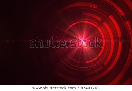 Dark red color circles digital illustration. Stock photo © latent