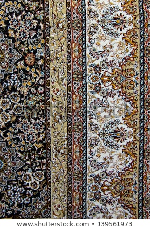 Török selyem szőnyeg virágmintás dísz háttér Stock fotó © Photocrea