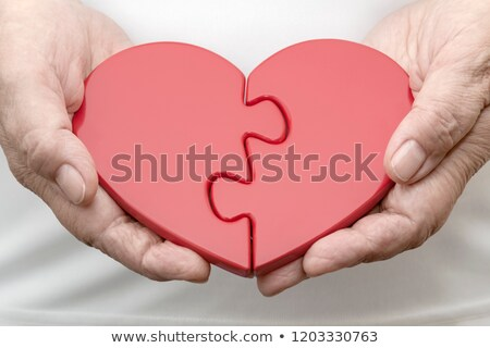 Stock photo: Human Heart Puzzle