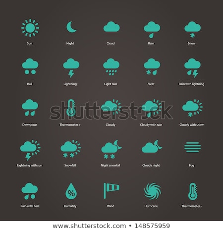 planetary sign icon set stock photo © cteconsulting