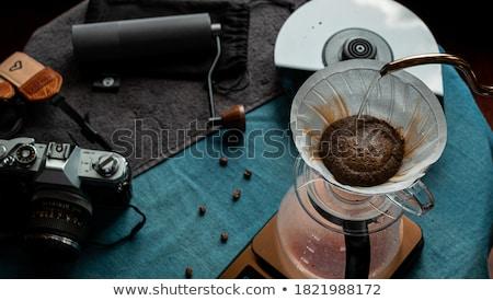 szenvedély · fotózás · idős · fotós · elvesz · befejezés - stock fotó © eldadcarin
