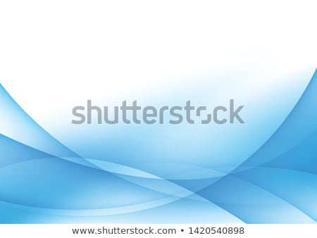 Stok fotoğraf: Abstract Wave Banner