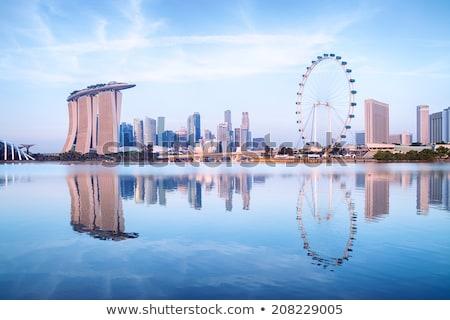 quayside of singapore stock photo © joyr