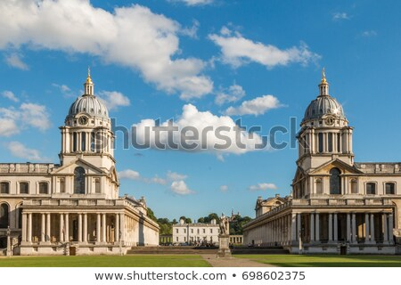 queen mary court at the royal naval college in london stock photo © chrisdorney