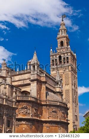 La Giralda Tower in Seville, Spain Stock photo © aladin66