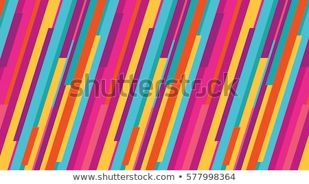 çizgili · renkli · iş · soyut · dizayn · teknoloji - stok fotoğraf © kariiika