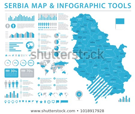 Serbia Map Vector Illustration C Iryna Volina Volina 3524203