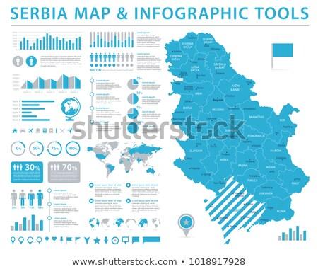Serbia Map Vector Illustration C Iryna Volina Volina 3524203