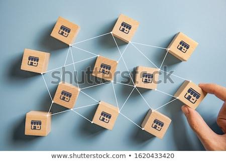 Franchise. Business Concept. Stock photo © tashatuvango