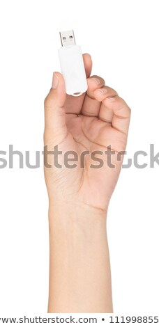 usb flash stick shows portable storage or memory stock photo © stuartmiles