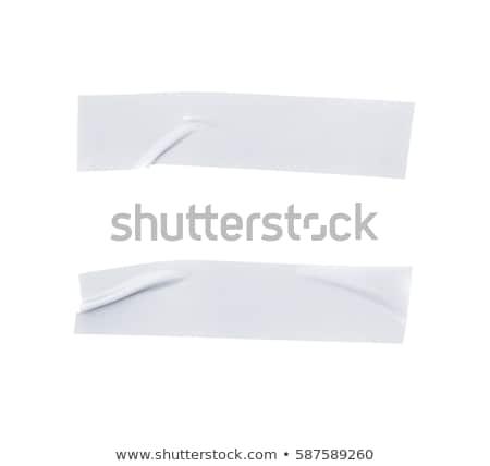 insulating tape set isolated on white background stock photo © leonardi