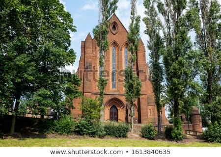 Glasgow edificio de la iglesia construcción diseno iglesia piedra Foto stock © claudiodivizia