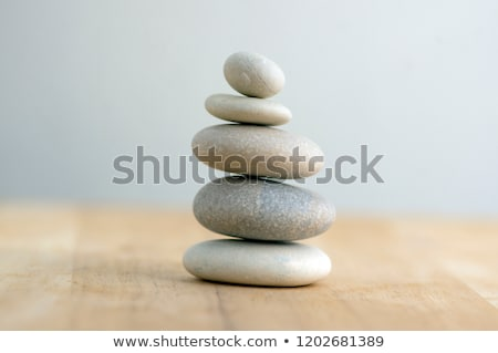 Four rock balancing stock photo © ajfilgud