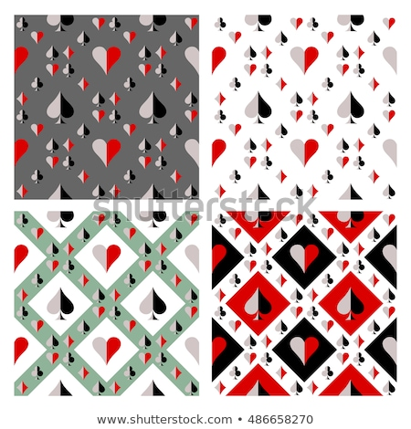 Leisure card symbols. Seamless abstract pattern. Stock photo © boroda