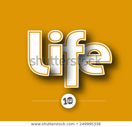 Stock photo: 3d Word Life