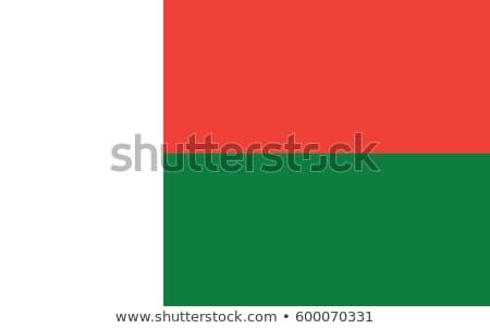 cumhuriyet · Madagaskar · küçük · 3d · man · bayrak - stok fotoğraf © zeffss