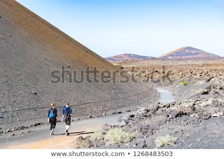 textúra · vulkáni · Montana · Tenerife · Kanári-szigetek · természet - stock fotó © meinzahn