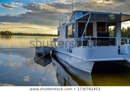 houseboat stock photo © lukchai