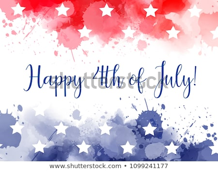 Independence Day July 4 Stock photo © mayboro