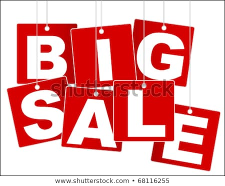 Vector percentage sale sign Stock photo © nickylarson974