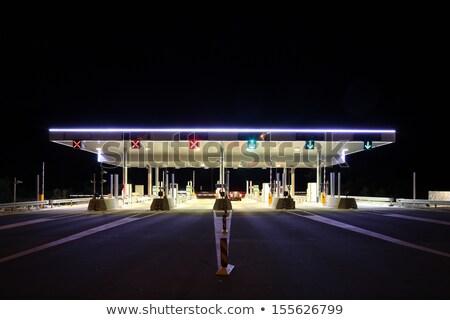 道路 道路 トール 空 青 ストックフォト © alex_grichenko