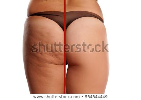Femenino culo blanco espacio de la copia desnuda mujeres Foto stock © Nobilior