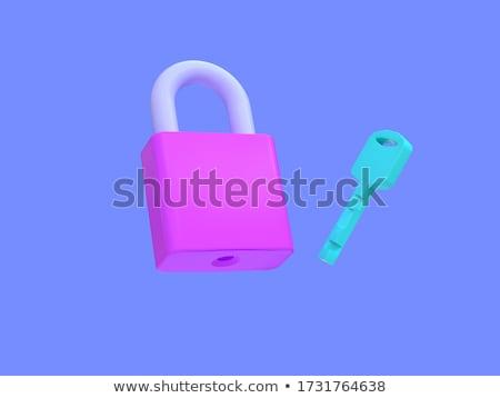 сохранить · ключевые · 3D · тонкий · алюминий · клавиатура - Сток-фото © montego