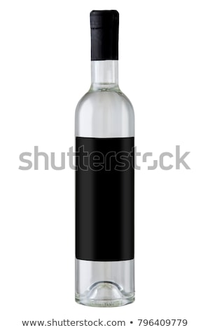 A glass of grappa with a bottle Stock photo © Zerbor