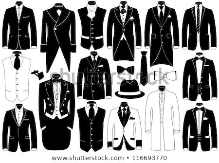 Elegante man kleding vent zakenman Stockfoto © majdansky