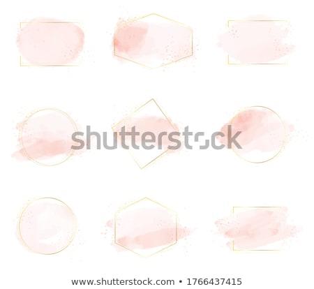 Pembe mürekkep vektör doku sanat Stok fotoğraf © gladiolus