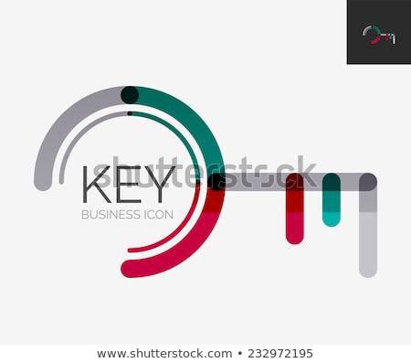 Unlock Purple Vector Icon Design Stock photo © rizwanali3d