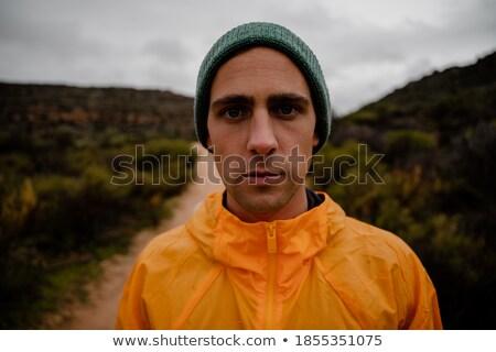 Portret taai vent opleiding man Stockfoto © majdansky