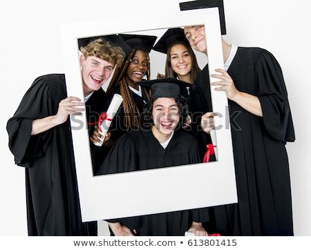 classe · 2012 · graduação · boné · final · educação - foto stock © elnur