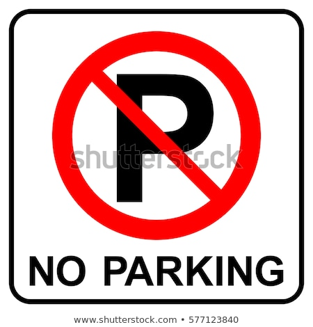 No parking sign in a park Stock photo © Sportactive