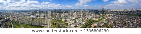 Industrial distrito ilustración carreteras fábricas poder Foto stock © blamb