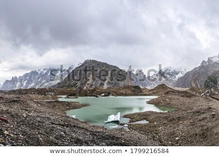 jéghegy · tó · sok · alkatrészek · híres · Izland - stock fotó © Hofmeester