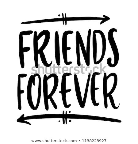 永遠 友達 実例 女性 女の子 友達 ストックフォト © adrenalina