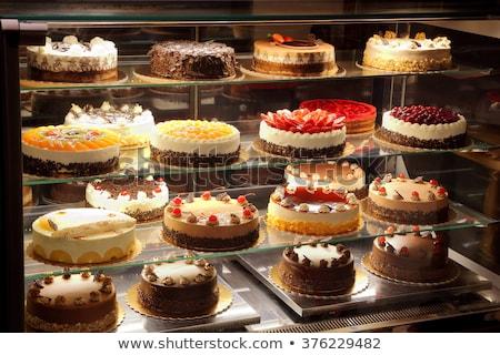 Dolci torte store alimentare torta gruppo Foto d'archivio © Paha_L