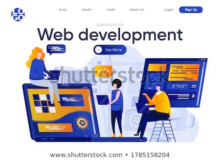 Composite image of designer interface Stock photo © wavebreak_media