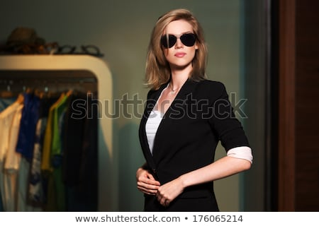 mulher · de · negócios · africano · isolado · branco · mulher - foto stock © zurijeta