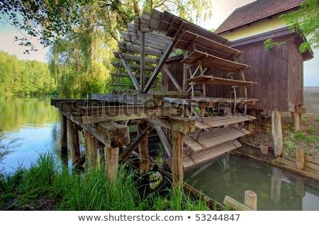 воды мельница Словакия Сток-фото © phbcz