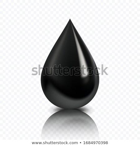 olio · drop · icona · abstract · verde · energia - foto d'archivio © smeagorl