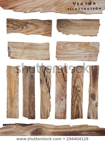 legno · rettangolo · set · raccolta · usato - foto d'archivio © voysla