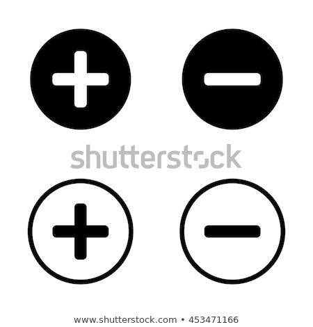 icons with minus signs stock photo © bluering