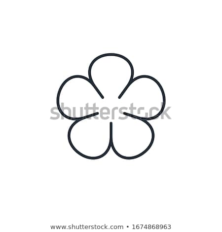 A blooming five-petal flower Stock photo © bluering