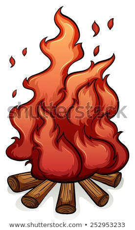 Adding fuel to the fire idiom Stock photo © bluering