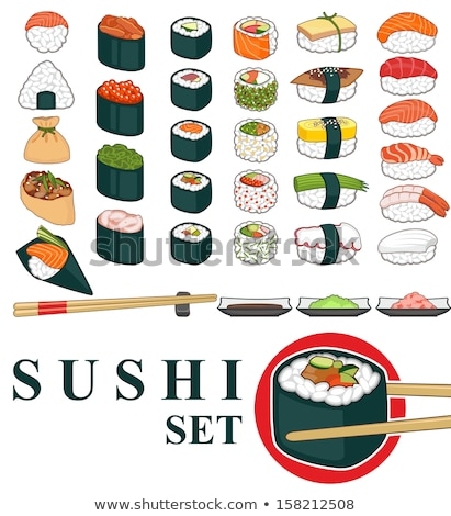 Various types of sushi Stock photo © Digifoodstock