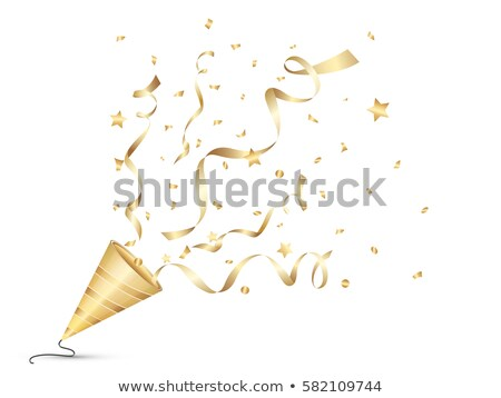Colorful confetti on white background. EPS 10 Stock photo © beholdereye