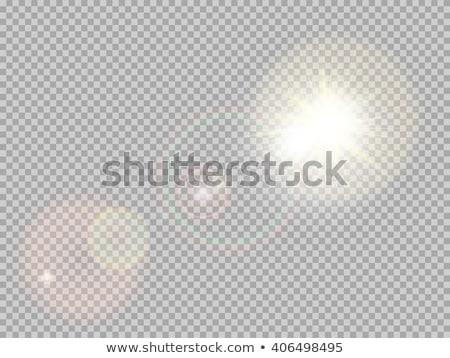 vector · transparente · luz · del · sol · especial · luz - foto stock © beholdereye